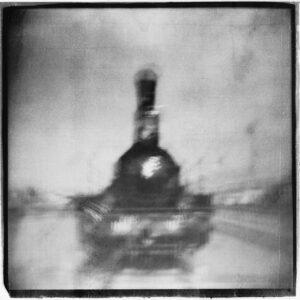 The old steam locomotive  #032