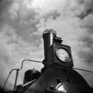 The old steam locomotive  #033